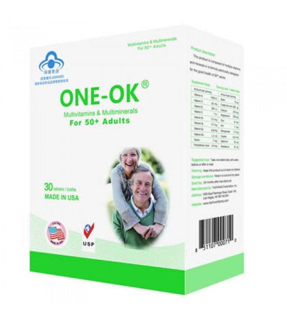 ONE-OK® Multivitamins & Minerals for 50+