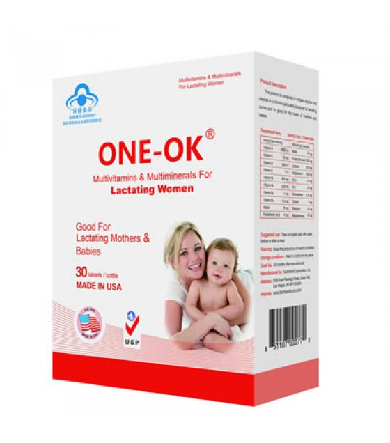 ONE-OK®  Multivitamins & Minerals for Lactating Women